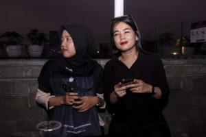 Dinda Sandra Putri dan Mayla Hidayat di Mercure Jakarta Cikini