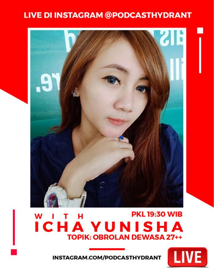 Live with Yunisha Rachman dan Podcast Hydrant