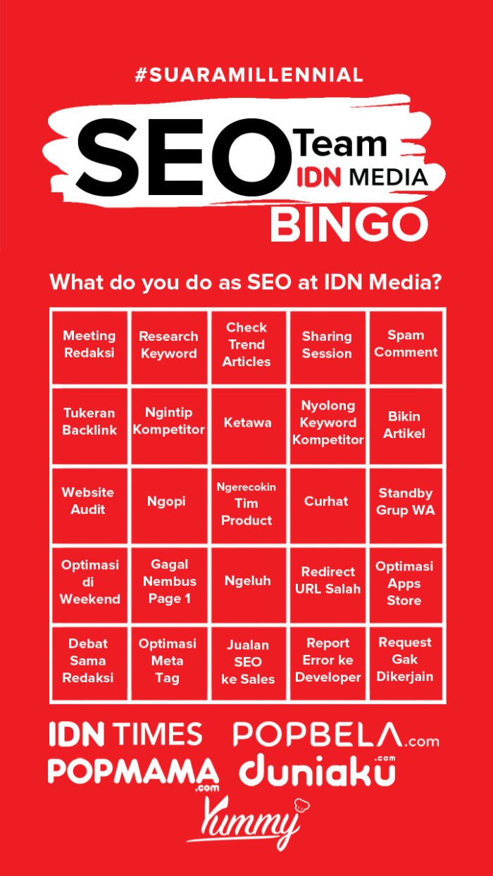 SEO Bingo IDN Media