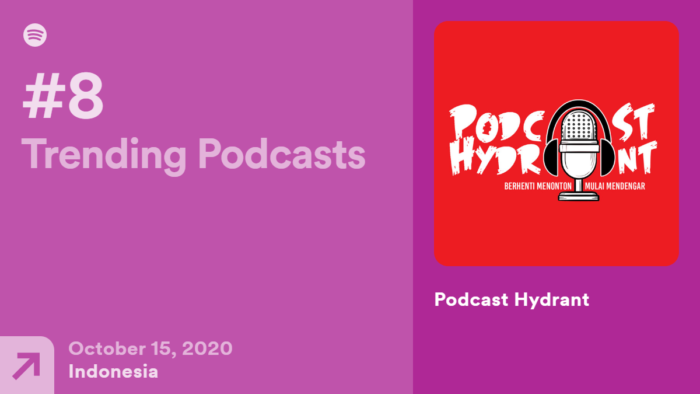 Trending Podcasts Indonesia Podcast Hydrant